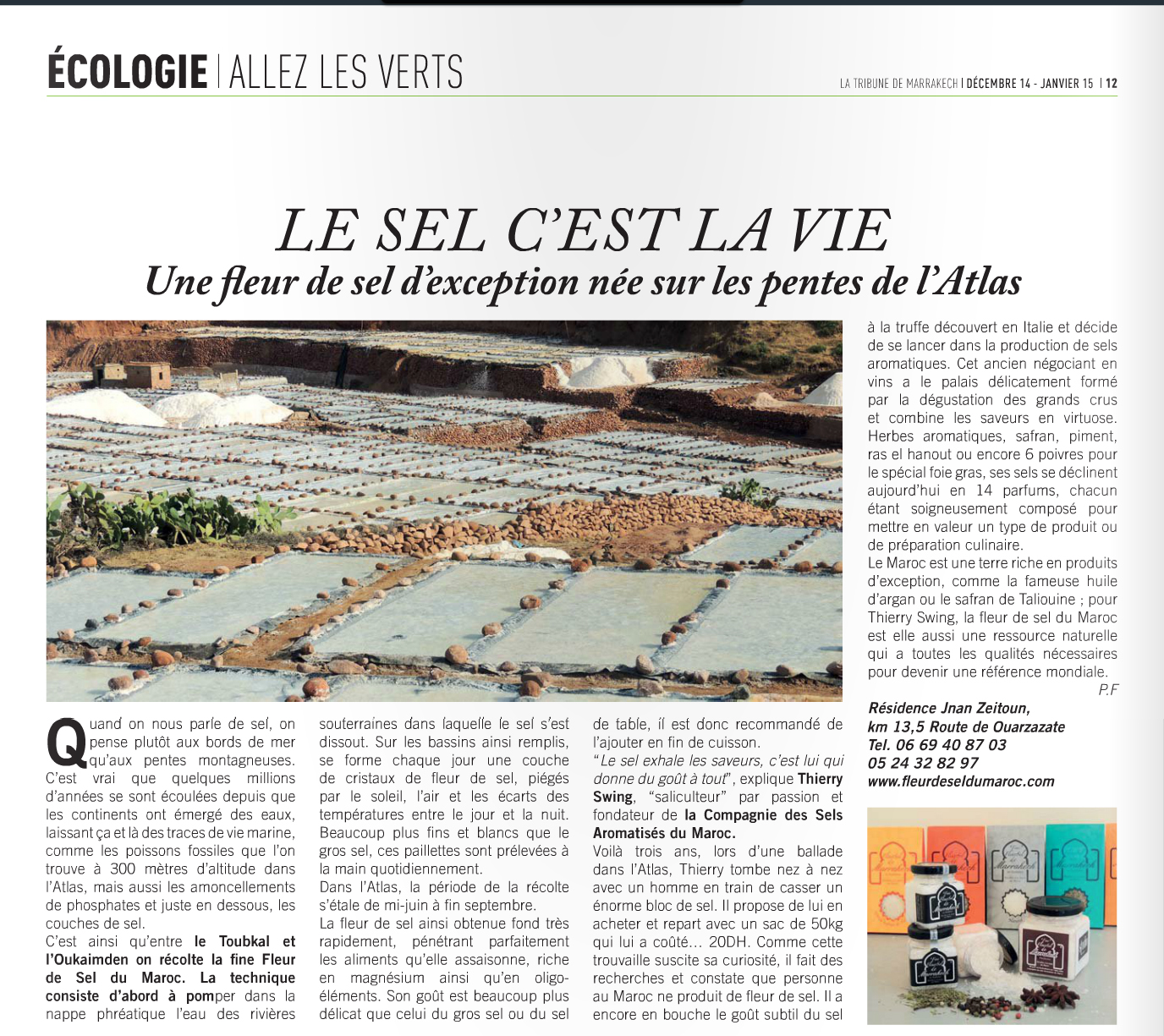Tribune de Marrakech n°38